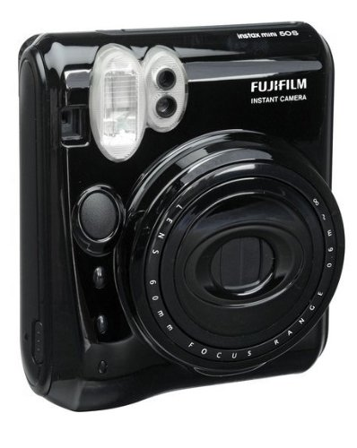 Instax Mini 50S Film Camera (Black) by Fujifilm