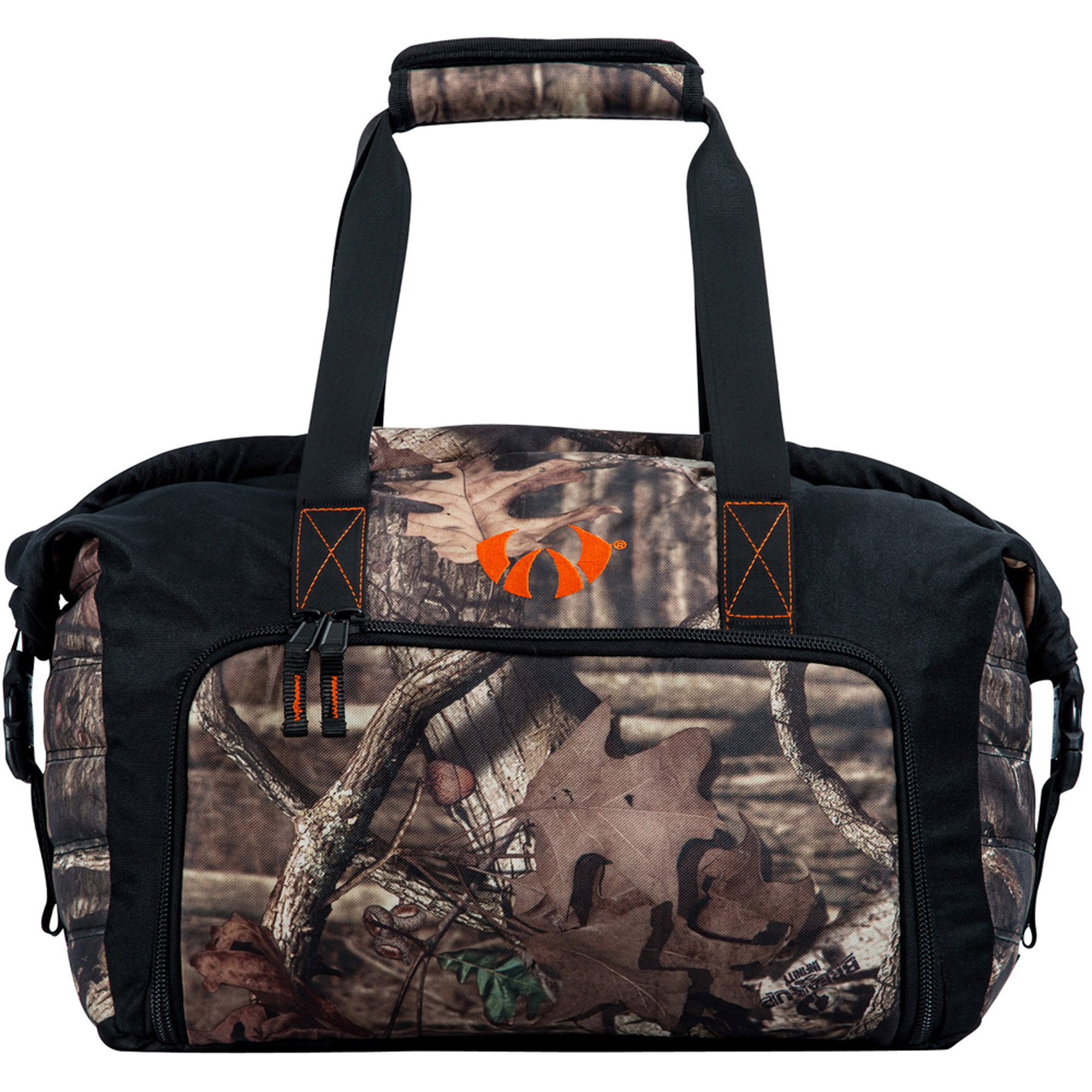 Watson Airlock Mini Camo Carrier, Orange/Mossy Oak