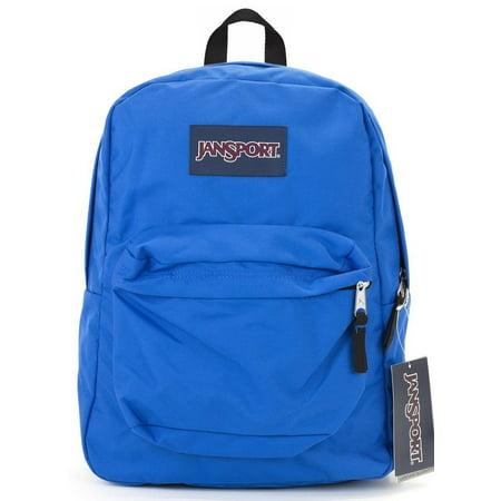 Jansport Classic Superbreak Backpack Blue Streak Book Bag School