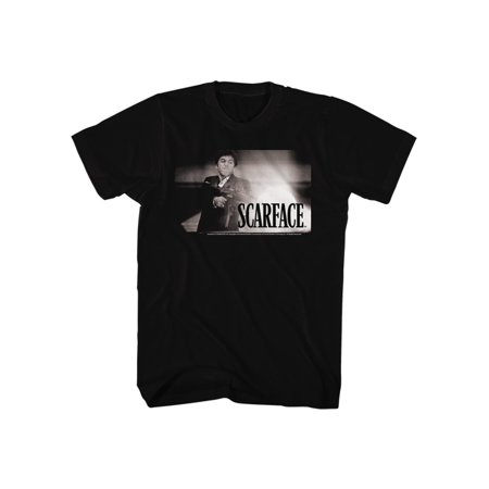 Scarface 1980's Gangster Crime Movie Final Fight Adult T-Shirt (1980's Movies Halloween Costumes)