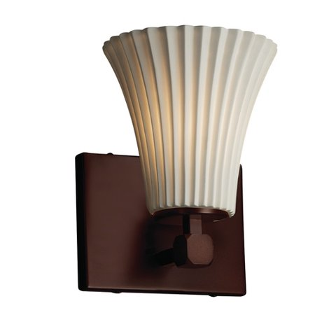 Justice Design Fish (Justice Design Group Limoges Tetra 1 Light Wall Sconce)