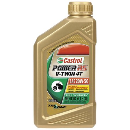 Castrol 06116 / 159AE1 Power RS V-Twin 4T Motorcycle Oil - 20W50 -
