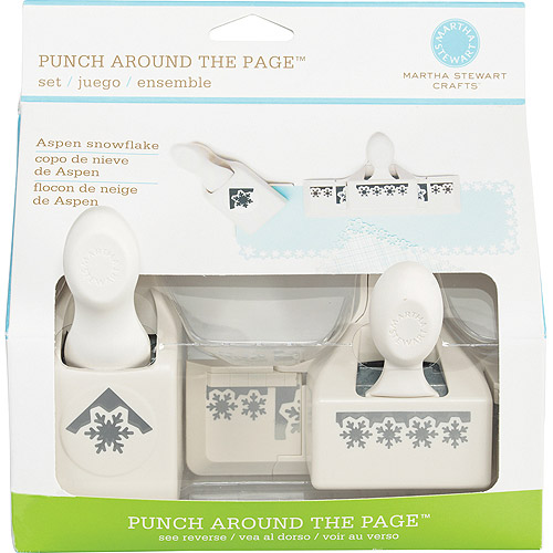 Martha Stewart Crafts Punch Around the Page Combo, Aspen