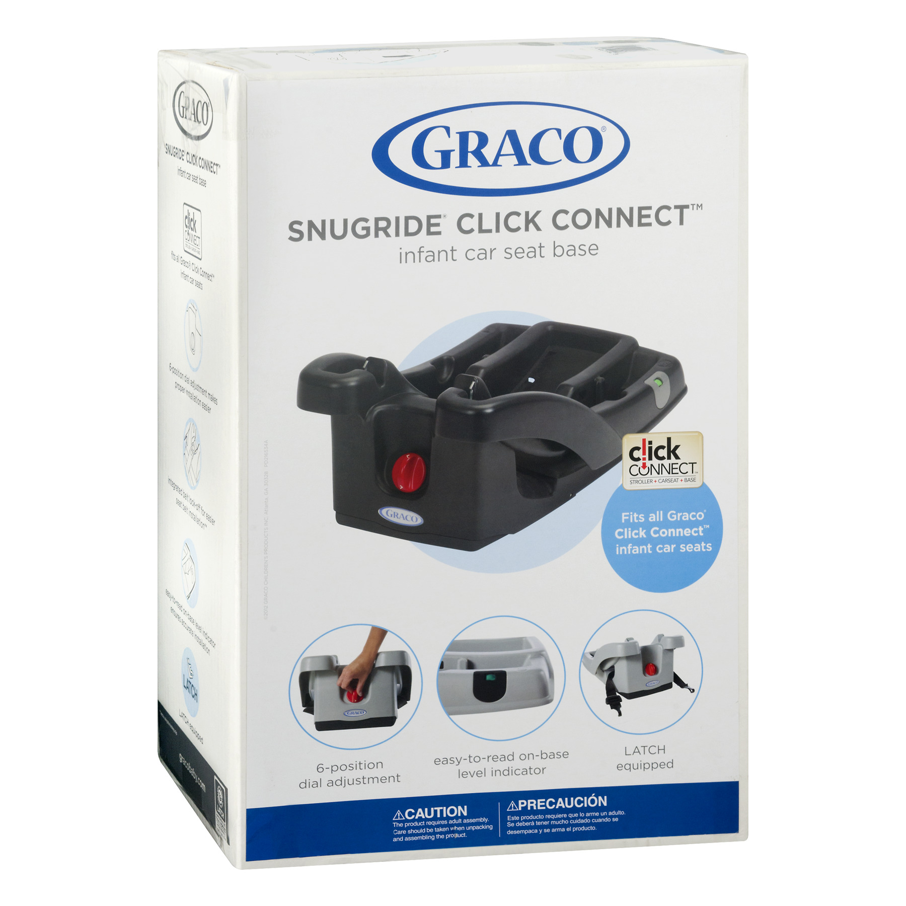 Graco SnugRide Click Connect LX Infant Car Seat Base Black