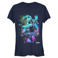 Marvel Juniors' Avengers: Infinity War Thor Lightning T-Shirt