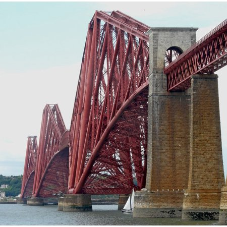 LAMINATED POSTER Rail Queensferry Scotland Fife Forth Bridge Poster Print 24 x 36