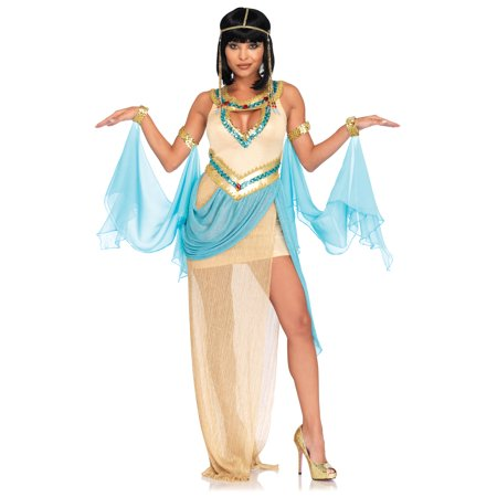 Leg Avenue Womens 3 PC Sexy Gold Cleopatra - Womens Cleopatra Costume