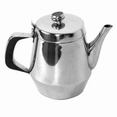 Stainless Steel 32 oz Teapot Restaurant Drink Hot Tea Coffee Pourer Service Pot