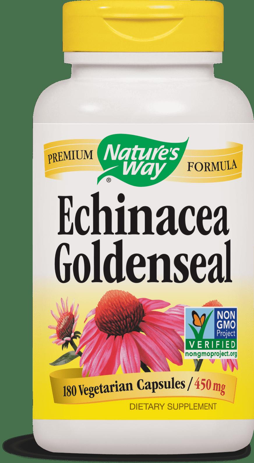 Nature S Way Echinacea Goldenseal Non Gmo Project Verified Tru Id