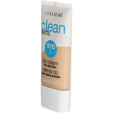 COVERGIRL Clean Matte BB Cream, 510 Fair, 1 fl oz
