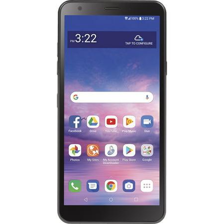Tracfone LG Journey, 16GB Black - Prepaid Smartphone