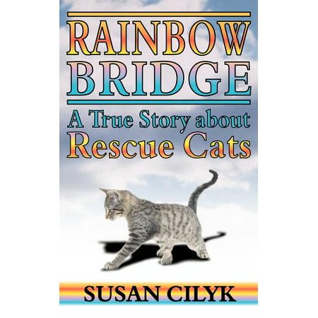 Rainbow Bridge, a True Story about Rescue Cats (Paperback) Rainbow Bridge Poem Pet Loss