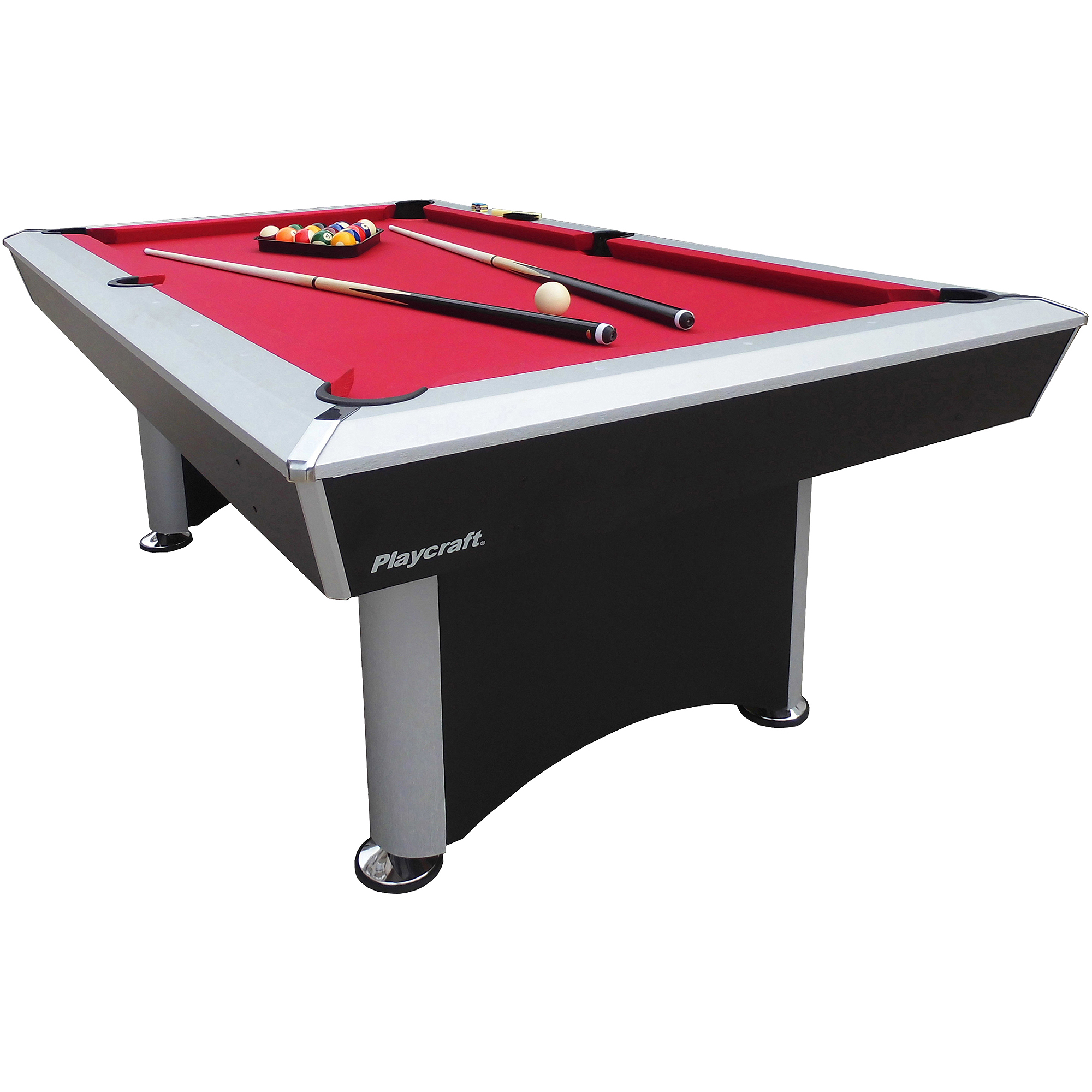 Playcraft 7' Sprint Pool Table with Red Cloth