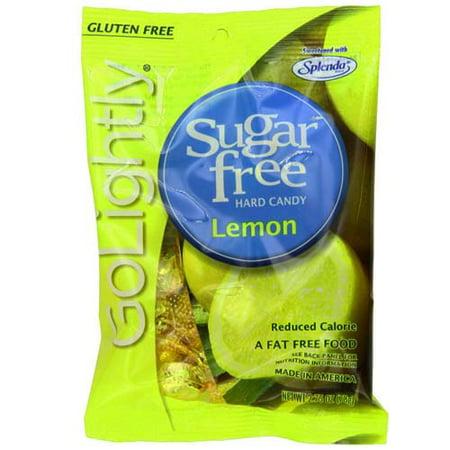 Golightly Sugar Free Hard Candy, Lemon - 2.75 (Lime Sugar Free Candy)