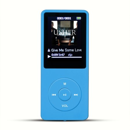 AGPtEK 2017 Latest Version 8GB 70 Hours Playback MP3 Lossless Sound Music Player Supports up to 64GB Color - Halloween Mix 2017 Mp3