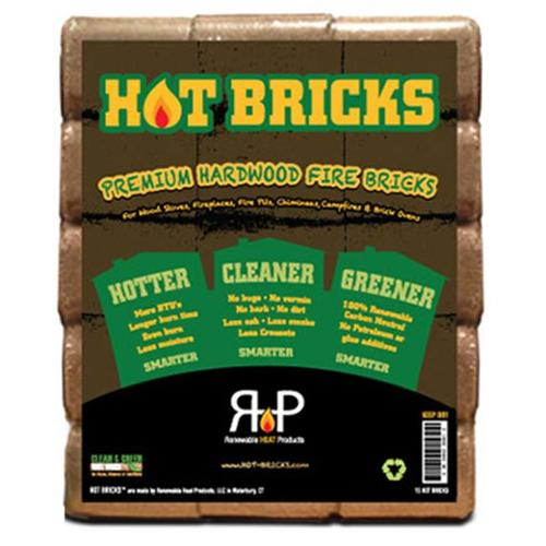 Renewable Heat Products HB-15 Wood Stove Fuel, 15-Pack - Quantity 1