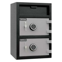 Mesa Safe 3.6 cu. ft. Cash Depository Safe with Dual Doors Stacked, MFL3020EE