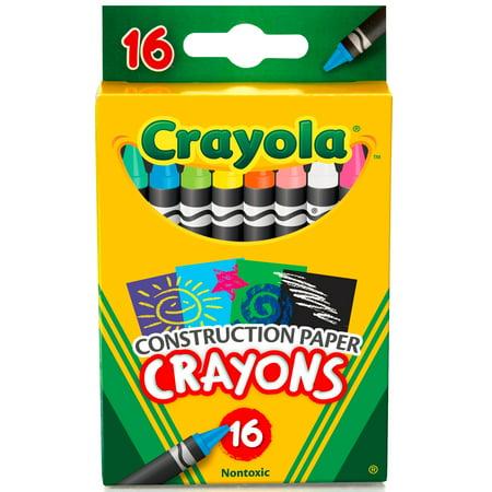 Crayola 16 Count Construction Paper Crayons