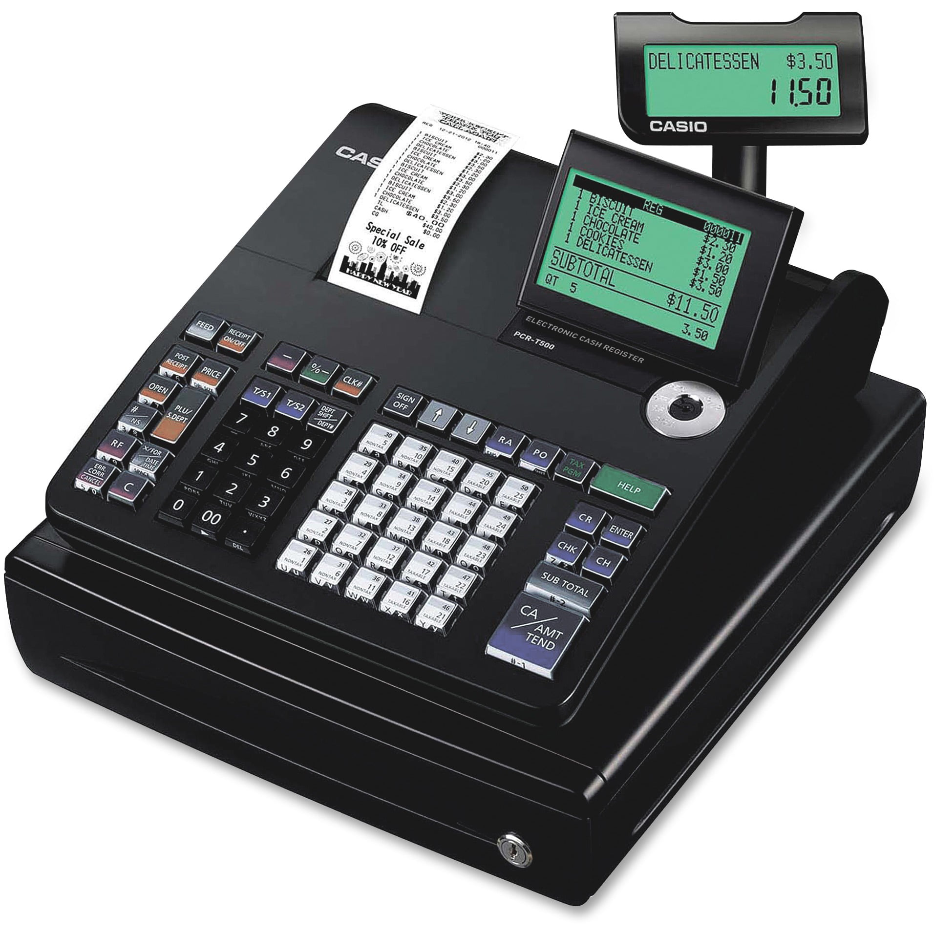 Casio PCR-T500 Electronic Cash Register by Casio
