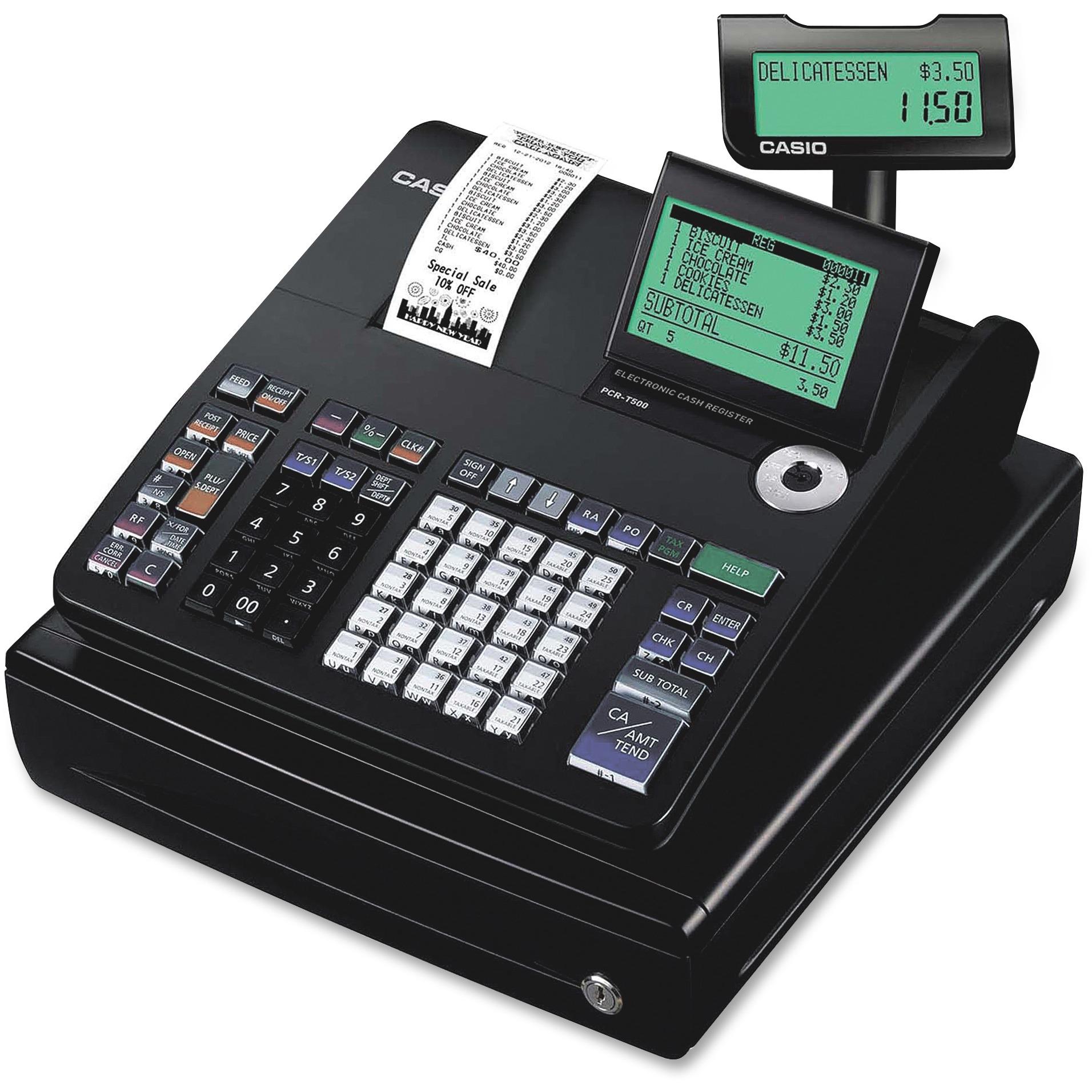 Casio PCR-T500 Electronic Cash Register