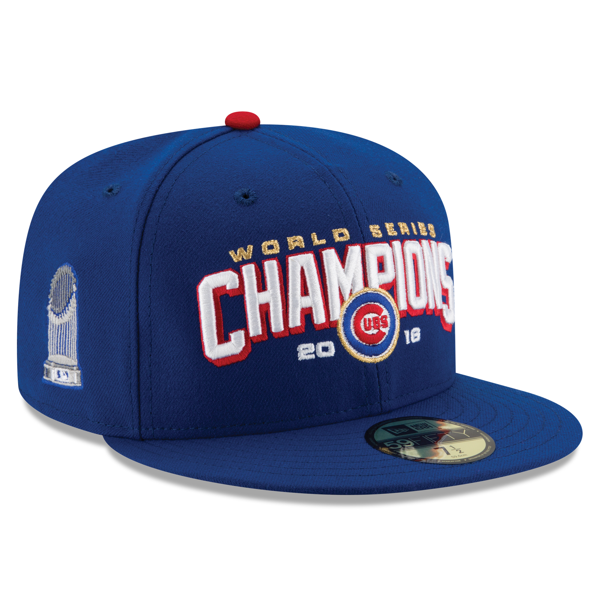 Chicago Cubs New Era 2016 World Series Champions 59FIFTY Fitted Hat - Royal