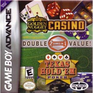 Texas Hold 'Em Poker / Golden Nugget Dual Pack (Game Boy Advance)
