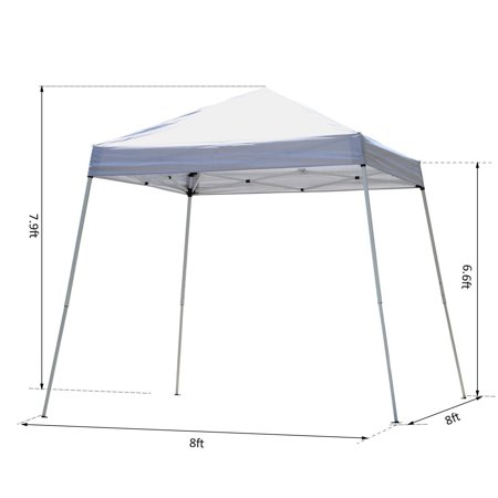 New MTN-G MTN-G 8x8FT Folding Outdoor Patio Pop Up Canopy Wedding