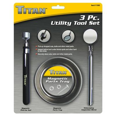 Titan Tool Box (Titan Tools 11065 Utility Tool Set 3 Pc )