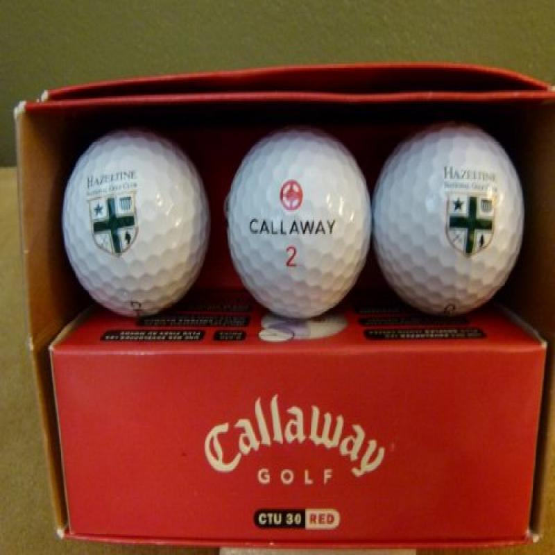 Callaway CTU 30 Red Golf Balls - Hazeltine National Golf ...