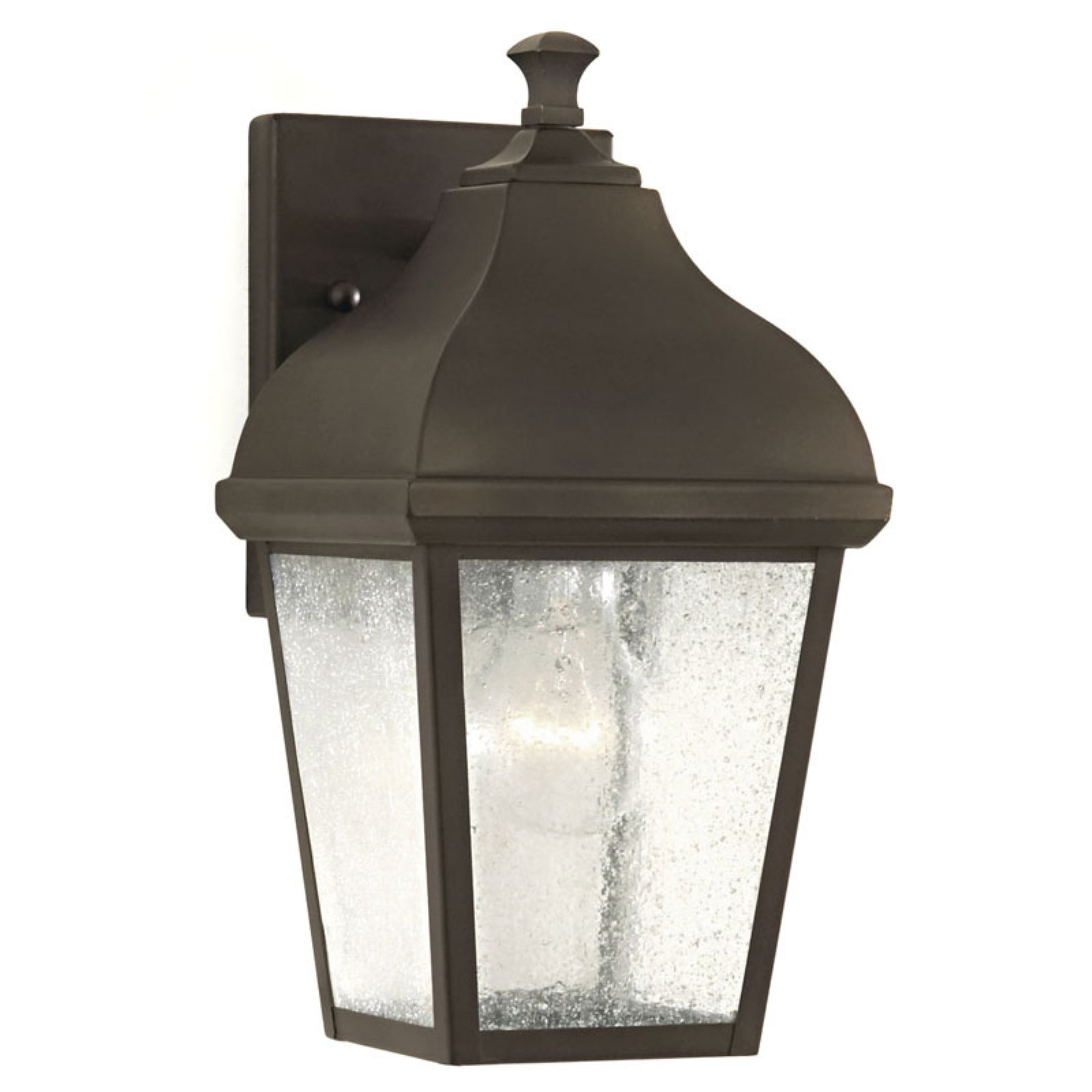 Feiss Terrace Outdoor Wall Lantern - 11.75H in. Oil Rubbed Bronze