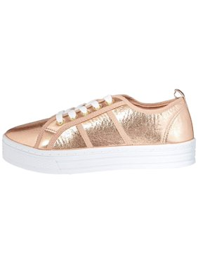 1e219fbc2041 Product Image Qupid Womens Maniac Low Top Lace Up Fashion Sneakers