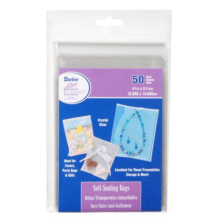Bags Self Seal Clear Acfre 50pc