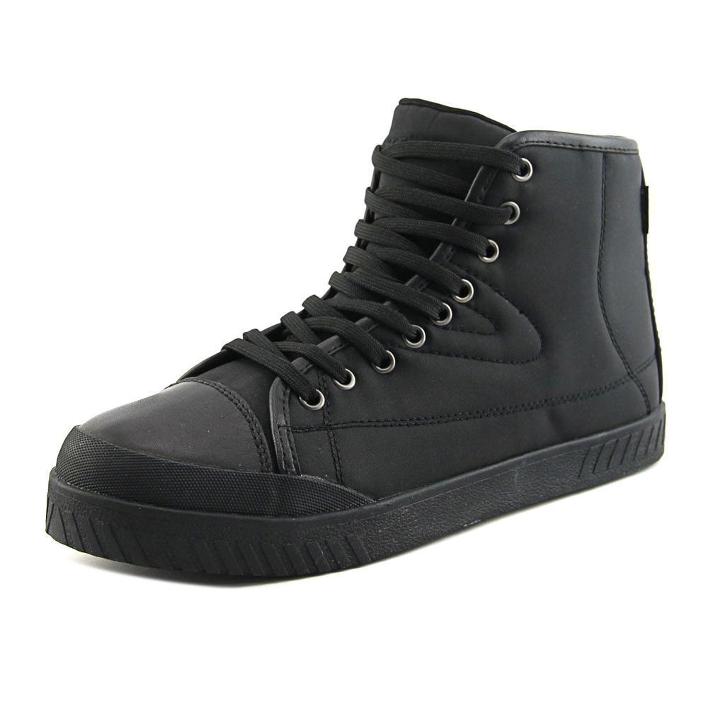 Tretorn Bailey 4 Women Round Toe Canvas Black Sneakers by Tretorn