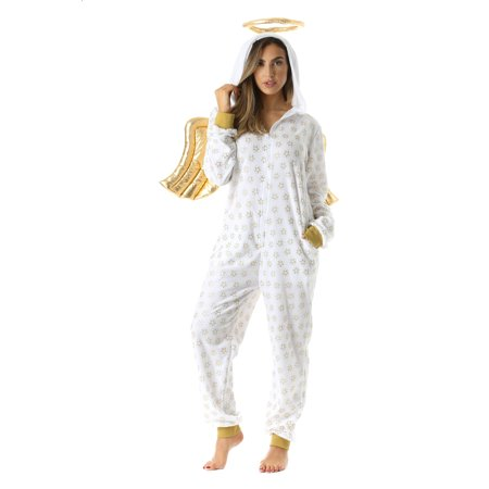 #followme Adult Christmas Onesie for Women Jumpsuit One-Piece Pajamas