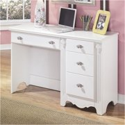 Bowery Hill Signature Design by 4-Drawer Bedroom Desk in White