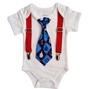 Noah's Boytique Baby Boys First Birthday Nautical Anchor Party Outfit 6-12 M