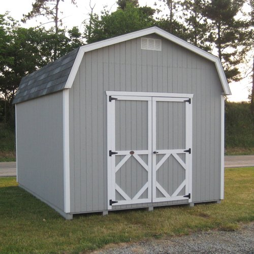 Little Cottage Company Classic Solid Wood Storage Shed