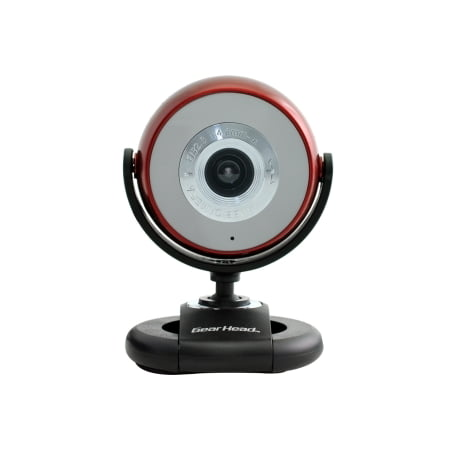 5.0 MP WEBCAM W 720P HDVIDEO RECORDS TRUE HD VIDEO IN 720P RED