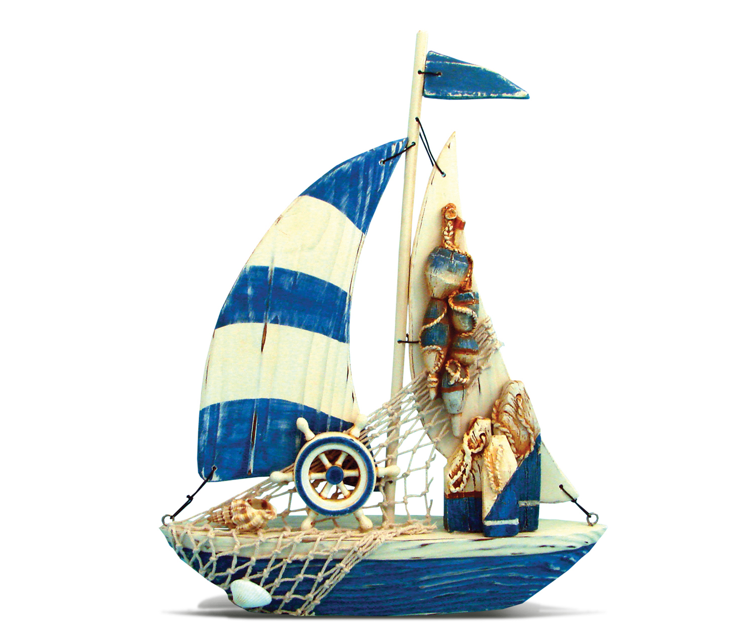 Nautical Decor Lovely Sailboat by Puzzled