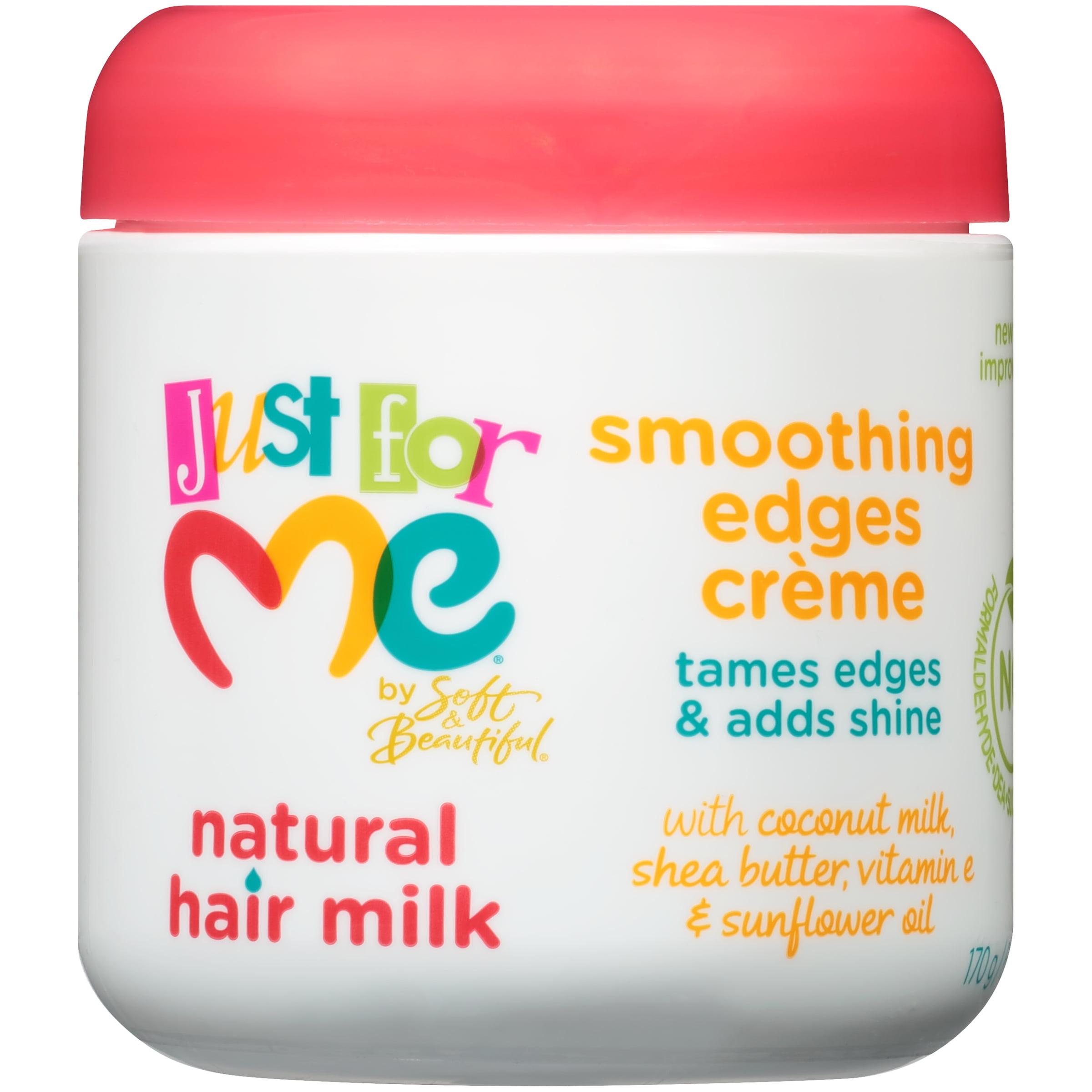 Just For Me® Natural Hair Milk Smoothing Edges Hair Creme 6 oz. Jar