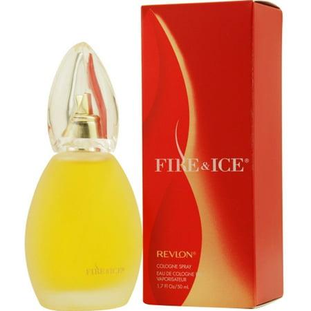 Revlon Cologne Perfume Spray (2 Pack - Fire & Ice By Revlon Cologne Spray 1.7)