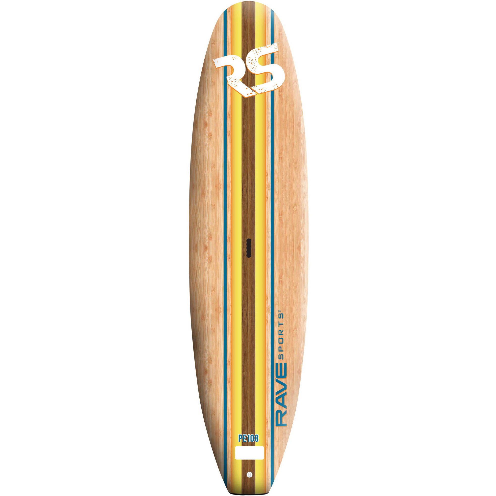 Rave Sports RAVE 2725 Bamboo Soft Top SUP w/Paddle and Le...