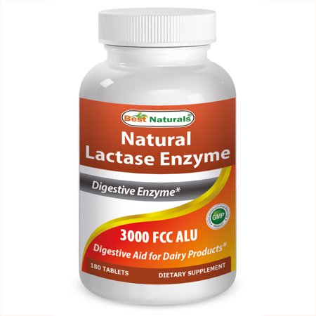 Best Naturals Lactase Enzyme 180 Tablets