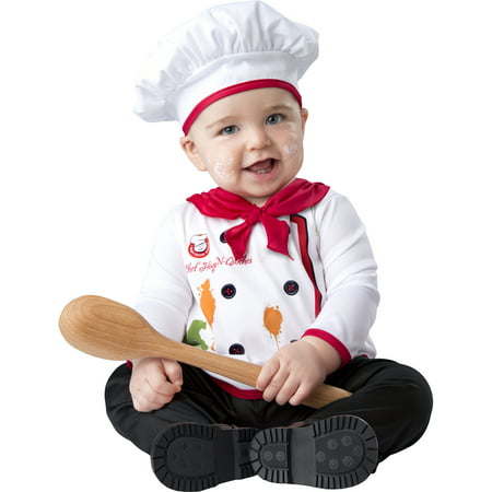 Baby Chef Cook Kitchen Helper Baker Dinner Halloween Costume - Cute Halloween Costumes For Babies And Toddlers