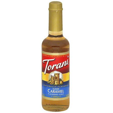 Torani Caramel Syrup, 12.7 oz (Pack of 6)