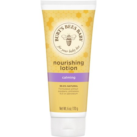 Burt's Bees Baby Nourishing Lotion, Calming Baby Lotion - 6 Ounce