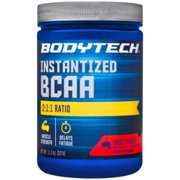 BodyTech BCAA (Branched Chain Amino Acid) Fruit Punch  Optimal 2:1:1 Ratio  Supports Muscle Recovery  Endurance (11.5 Ounce Powder)