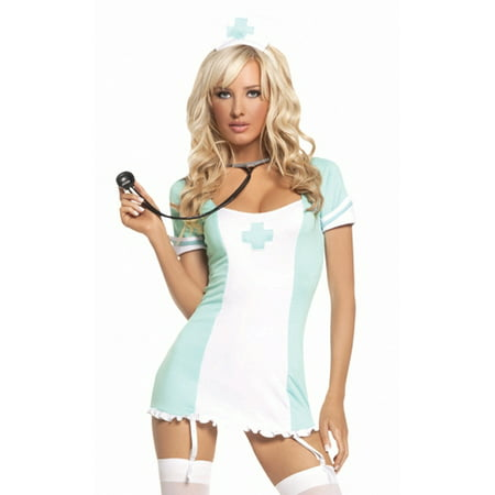 Elegant Moments Sexy Naughty Pinup Nurse Doctor Hospital Scrubs Halloween - Halloween Hospital Scene