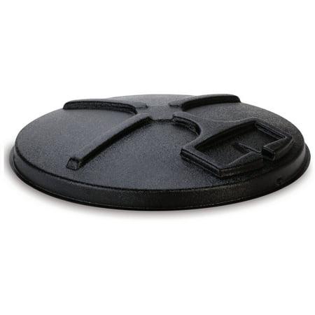 Quick Lid (Moultrie 30 Gallon Quick Lid, Black )