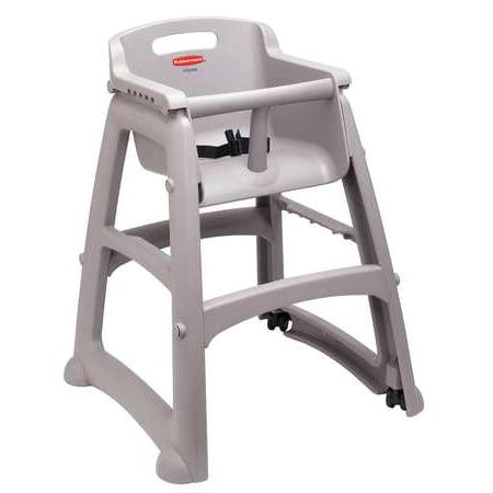 Rubbermaid High Chairs (Youth High Chair, Platinum RUBBERMAID FG780608PLAT )